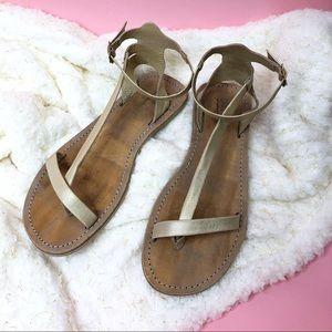 NEW Farylrobin x FP Distressed Sandals